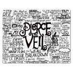 Pierce The Veil Music Band Group Fabric Art Cloth Poster Rectangular Jigsaw Puzzl Front