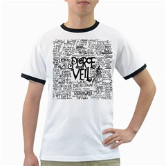 Pierce The Veil Music Band Group Fabric Art Cloth Poster Ringer T Shirts