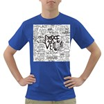 Pierce The Veil Music Band Group Fabric Art Cloth Poster Dark T-Shirt Front
