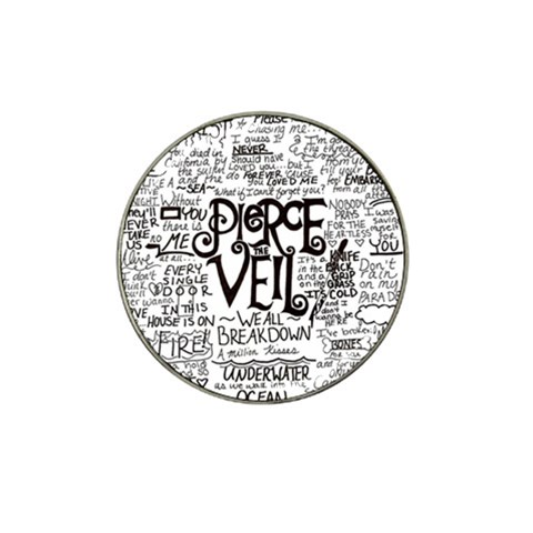 Pierce The Veil Music Band Group Fabric Art Cloth Poster Hat Clip Ball Marker