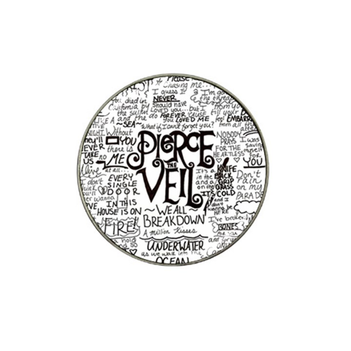 Pierce The Veil Music Band Group Fabric Art Cloth Poster Hat Clip Ball Marker