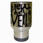 Pierce The Veil Music Band Group Fabric Art Cloth Poster Travel Mug (Silver Gray) Center