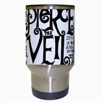Pierce The Veil Music Band Group Fabric Art Cloth Poster Travel Mugs (White) Center