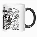 Pierce The Veil Music Band Group Fabric Art Cloth Poster Morph Mugs Right