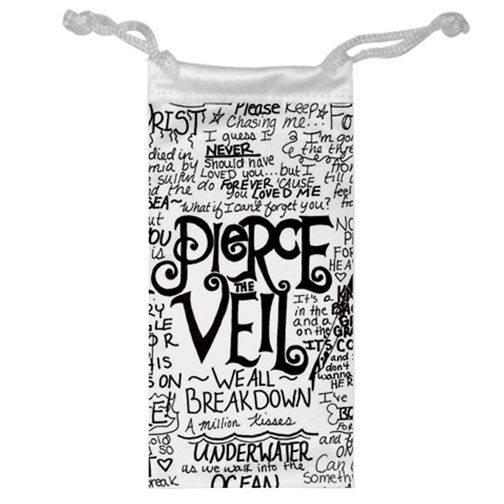 Pierce The Veil Music Band Group Fabric Art Cloth Poster Jewelry Bags