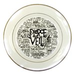Pierce The Veil Music Band Group Fabric Art Cloth Poster Porcelain Plates Front