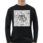 Pierce The Veil Music Band Group Fabric Art Cloth Poster Long Sleeve Dark T-Shirts Front