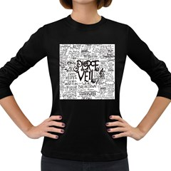 Pierce The Veil Music Band Group Fabric Art Cloth Poster Women s Long Sleeve Dark T Shirts