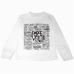 Pierce The Veil Music Band Group Fabric Art Cloth Poster Kids Long Sleeve T-Shirts
