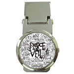 Pierce The Veil Music Band Group Fabric Art Cloth Poster Money Clip Watches Front