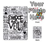 Pierce The Veil Music Band Group Fabric Art Cloth Poster Playing Cards 54 Designs  Front - Spade2