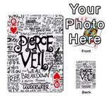 Pierce The Veil Music Band Group Fabric Art Cloth Poster Playing Cards 54 Designs  Front - HeartQ