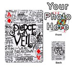 Pierce The Veil Music Band Group Fabric Art Cloth Poster Playing Cards 54 Designs  Front - DiamondA