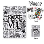 Pierce The Veil Music Band Group Fabric Art Cloth Poster Playing Cards 54 Designs  Front - Club6