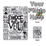 Pierce The Veil Music Band Group Fabric Art Cloth Poster Playing Cards 54 Designs  Front - Club9