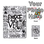 Pierce The Veil Music Band Group Fabric Art Cloth Poster Playing Cards 54 Designs  Front - Club10