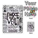 Pierce The Veil Music Band Group Fabric Art Cloth Poster Playing Cards 54 Designs  Front - ClubQ