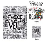 Pierce The Veil Music Band Group Fabric Art Cloth Poster Playing Cards 54 Designs  Front - Joker1