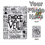 Pierce The Veil Music Band Group Fabric Art Cloth Poster Playing Cards 54 Designs  Front - Spade8