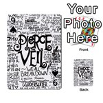 Pierce The Veil Music Band Group Fabric Art Cloth Poster Playing Cards 54 Designs  Front - Spade9