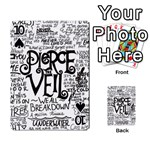 Pierce The Veil Music Band Group Fabric Art Cloth Poster Playing Cards 54 Designs  Front - Spade10