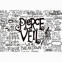 Pierce The Veil Music Band Group Fabric Art Cloth Poster Collage Prints