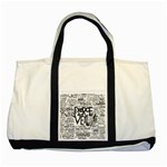 Pierce The Veil Music Band Group Fabric Art Cloth Poster Two Tone Tote Bag Front