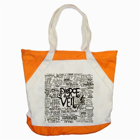 Pierce The Veil Music Band Group Fabric Art Cloth Poster Accent Tote Bag