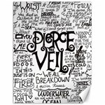 Pierce The Veil Music Band Group Fabric Art Cloth Poster Canvas 12  x 16   16 x12 Canvas - 1