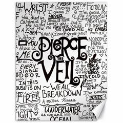 Pierce The Veil Music Band Group Fabric Art Cloth Poster Canvas 18  x 24