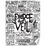 Pierce The Veil Music Band Group Fabric Art Cloth Poster Canvas 18  x 24   24 x18 Canvas - 1