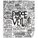 Pierce The Veil Music Band Group Fabric Art Cloth Poster Canvas 20  x 24   24 x20 Canvas - 1