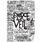 Pierce The Veil Music Band Group Fabric Art Cloth Poster Canvas 20  x 30   30 x20 Canvas - 1