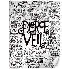 Pierce The Veil Music Band Group Fabric Art Cloth Poster Canvas 36  X 48