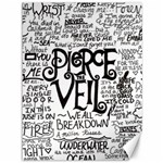 Pierce The Veil Music Band Group Fabric Art Cloth Poster Canvas 36  x 48   48 x36 Canvas - 1