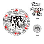 Pierce The Veil Music Band Group Fabric Art Cloth Poster Playing Cards 54 (Round)  Front - Heart2