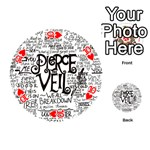 Pierce The Veil Music Band Group Fabric Art Cloth Poster Playing Cards 54 (Round)  Front - Heart10