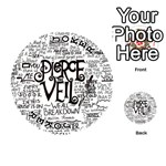 Pierce The Veil Music Band Group Fabric Art Cloth Poster Playing Cards 54 (Round)  Front - Joker1