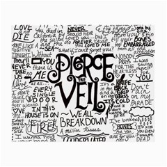 Pierce The Veil Music Band Group Fabric Art Cloth Poster Small Glasses Cloth (2 Side)