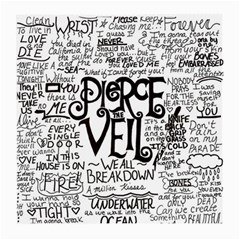 Pierce The Veil Music Band Group Fabric Art Cloth Poster Medium Glasses Cloth (2 Side)