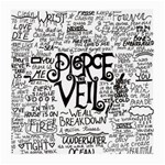 Pierce The Veil Music Band Group Fabric Art Cloth Poster Medium Glasses Cloth (2-Side) Back