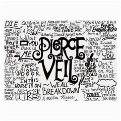 Pierce The Veil Music Band Group Fabric Art Cloth Poster Large Glasses Cloth (2 Side)