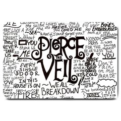 Pierce The Veil Music Band Group Fabric Art Cloth Poster Large Doormat