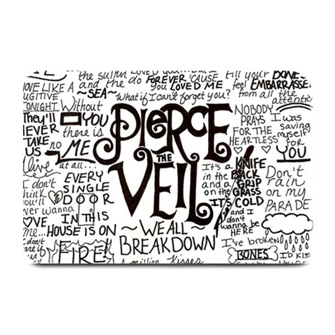 Pierce The Veil Music Band Group Fabric Art Cloth Poster Plate Mats