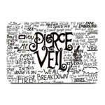 Pierce The Veil Music Band Group Fabric Art Cloth Poster Plate Mats 18 x12 Plate Mat - 1