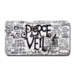Pierce The Veil Music Band Group Fabric Art Cloth Poster Medium Bar Mats 16 x8.5 Bar Mat - 1