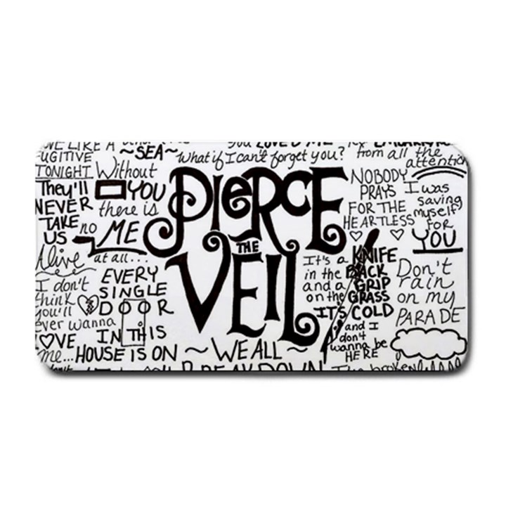 Pierce The Veil Music Band Group Fabric Art Cloth Poster Medium Bar Mats