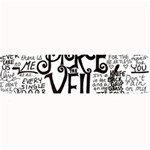 Pierce The Veil Music Band Group Fabric Art Cloth Poster Large Bar Mats 34 x9.03 Bar Mat - 1