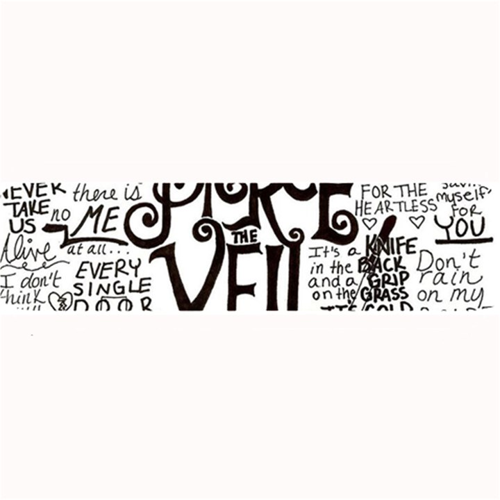 Pierce The Veil Music Band Group Fabric Art Cloth Poster Large Bar Mats