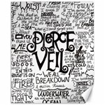 Pierce The Veil Music Band Group Fabric Art Cloth Poster Canvas 11  x 14   14 x11 Canvas - 1